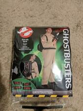 PARTY CITY GHOSTBUSTERS JUMPSUIT COSTUME INFLATABLE PACK ADULT PLUS SIZE EUC MIN