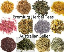Dried Herbs HERBAL TEA Organic 20g - 50g ..Eco Packaging available - Please Read