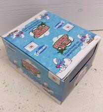 Box 180 paquets de 3 cartes autocollantes Schtroumpf la vie,collection Super U