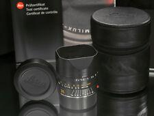 Leica 35mm f2.4 Summarit-M 6 Bit Coded Lens 11671 1:2.4 f/2.4 Aspherical ASPH