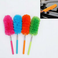 Soft Microfiber Telescopic Duster Brush Static Anti Dusting Brush Cleaning