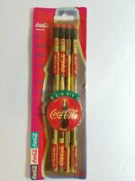Rare Vtg Always Coca-Cola Coke Pencils - Sealed 4 Pack in original box 1995