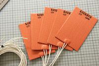 "100X150mm(4""x6"") 120W@12V Keenovo All Purpose Silicone Heater Pad w/3M PSA"