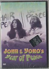 JOHN LENNON E YOKO'S YEAR OF PEACE DVD F.C.  BEATLES SEALED!!!