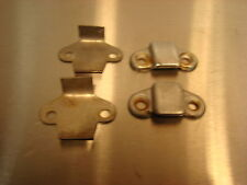 Alfa Romeo Spider 72-94 Convertible Top Latch Guides and Mounting Plates OEM
