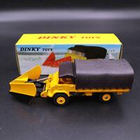 Atlas 1/43 Dinky 567 CHASSE-NEIGE Unimog Snowplough MERCEDES-BENZ Diecast