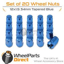 20Nero dado ruota dado Cerchi in acciaio Cerchi in alluminio Toyota Carina Corolla iQ