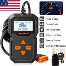 OBD OBD2 Car Scanner Check Engine Fault Code Reader Diagnostic Tool 301 US