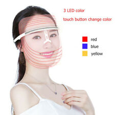 LED Light Photon Face Mask Rejuvenation Skin Tighten Therapy Deep Pnetration