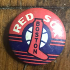 Vintage Old Baseball American Nut & Chocolate Pin Coin Boston Red Sox Ball