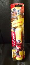 COLGATE TRANSFORMER BATTERY TOOTHBRUSH KIDS EXRA SOFT YELLOW