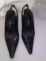 Russell & bromley croc ladies sandals uk 38 ref ba11