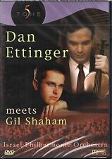 Dan Ettinger Meets Gil Shaham (DVD) Israel Philharmonic Orchestra (New & Sealed)