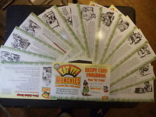 Eat It Recipe Cards Robert & Dana Ma Crumb 40th ed medicinal Green Goofy Butter