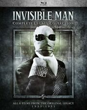 The Invisible Man (1933): Complete Legacy Collection (4 Disc) BLU-RAY NEW