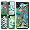 iPhone X 8 8 Plus 7 6 6s SE 5c Case Tropical Leaves II Bumper Cover For Apple