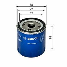BOSCH Oil Filter 0451103141 - Single