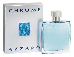 AZZARO CHROME For Men Cologne 3.4 oz After Shave Lotion Splash