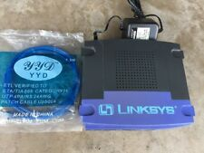 Linksys Etherfast Cable DSL Wired 10/100 Router w/ 4-port switch BEFSR41 Ver 2