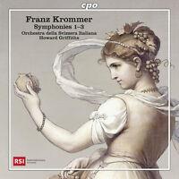 429597 / Orchestra D - Franz Krommer: Symphonies Nos. 1-3 [New CD]