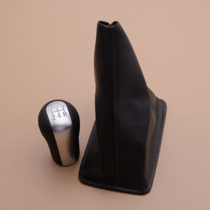 5 Speed Manual Gear Shift Knob w/ Gaiter Boot Cover Fit For Toyota Corolla RAV4