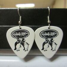 Fleetwood Mac Rumours Earrings; Killer Guitar Pick Jewelry (Classic Rock Band)