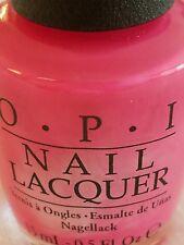Opi Nail Polish ~* Strawberry Margarita *~ Opi's Classics Line of Colors!