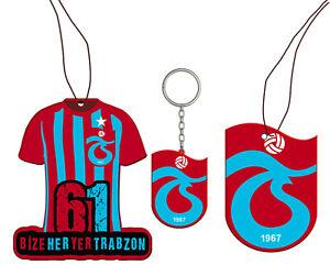 Trabzonspor - Duftbaum und Schlüsselanhänger- 2x Duftbaum & 1x Schlüsselanhänger
