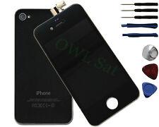 LCD Display mit Backcover für iPhone 4 S schwarz inkl Werkzeug