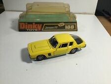 Vintage Dinky 188 Jensen FF Within Its Blister Display Pack