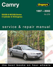 Toyota Camry SXV20 & MCV20 1997-2002 Workshop Repair Manual with MPN GAP04276