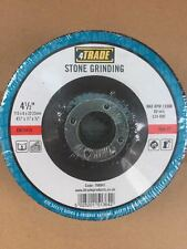 """4TRADE 4.5"""" 115 x 6mm STONE GRINDING DISCS BLADES FOR ANGLE GRINDERS x25"""