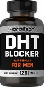 DHT Blocker | 120 Tablets | Supplement for Men | Non-GMO and Gluten Free...