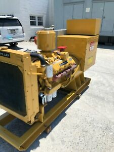 175 KW CATERPILLAR DIESEL GENERATOR RE-FURBISHED LOAD BANK TESTED LOW HOURS
