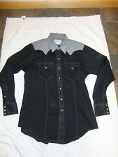 Vintage Men's Rockmount Western Shirt Eagle Embroidery Rockabilly Country