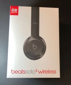 Beats by Dr Dre Solo 3 Wireless on-Ear Headphone [ Gloss BLACK Edition ] NEW