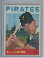 1964 Topps #570 BILL MAZEROSKI (Pirates) HOF EX-MT