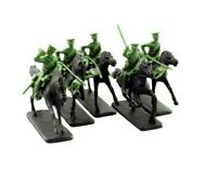 ARMIES IN PLASTIC 5540 WWI 1914-18 British Cavalry Lancers OD GREEN FREE SHIP