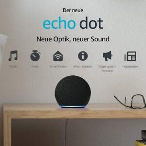 Amazon Echo Dot 4. Gen. Smart Haut-Parleur Alexa - Anthracite Nouveau & Ovp