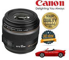 Canon EF-S 60mm F2.8 Compact Macro AutoFocus Lens 0284B002 (UK Stock)