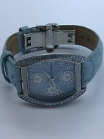 Prague Quartz Ladies Watch With Jewels Blue Face Blue Band - Working (21)