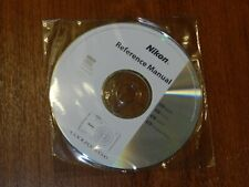 New Nikon OEM Genuine CD with User's Guide Instructions Manual for Coolpix S3200
