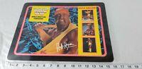 Vintage Wwf Hulk Hogan Laminated Placemat 16x12 1992