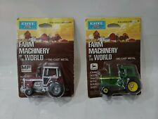 (Lot of 2)1/64 Ertl John Deere Farm Machinery of the World diecast metal Sealed
