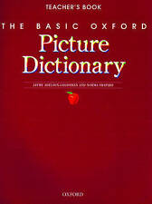 USED (GD) The Basic Oxford Picture Dictionary: Teacher's Book, 2nd Edition