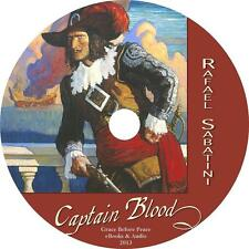 Captain Blood, Rafael Sabatini Caribbean Pirate Adventure Audiobook on 1 MP3 CD