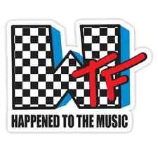 MTV stile WTF! divertente parodia COOL cosa f ** ck! * FERRO su T-shirt Trasferimento