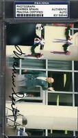 Warren Spahn Signed Original Photo Psa/dna Autograph Authentic