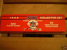1988 Score Baseball cards - Factory set - 660 cards