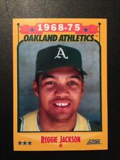 Reggie Jackson HOF Card Collection 1988, 1990. 45 Total Cards